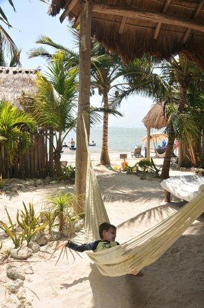 Maya Chan Beach: View of the beach