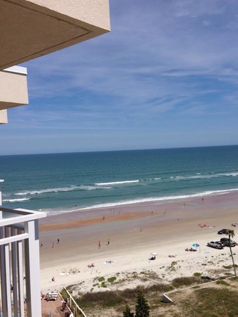 Hyatt Place Daytona Beach - Oceanfront : View from balcony on 10th floor