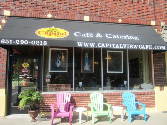 Capital View Cafe: front View