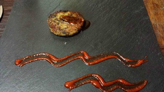 Restaurant Indochine Ly Leap: Hambuerguesa de...
