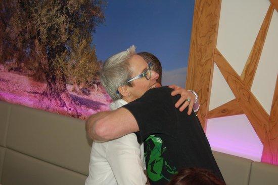 Aktivhotel Santalucia: Sehr herzliches Personal (Christine gratuliert zum Geburtstag)
