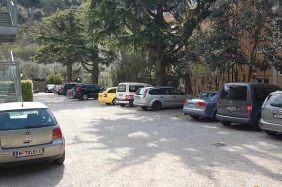 Aktivhotel Santalucia : Reichlich Parkplatz