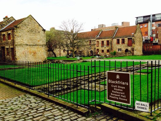 Blackfriars : Gorgeous historic area in the heart of Newcastle upon Tyne!