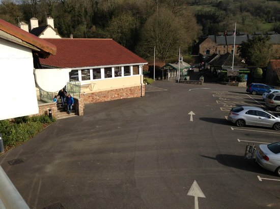 Wookey Hole Hotel: View from room
