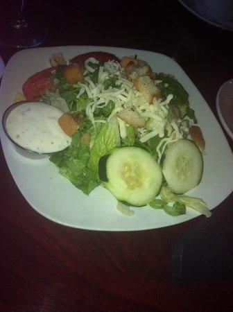 Riptides: Delicious garden salad