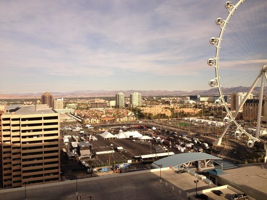 Harrah's Las Vegas: View from 24th floor