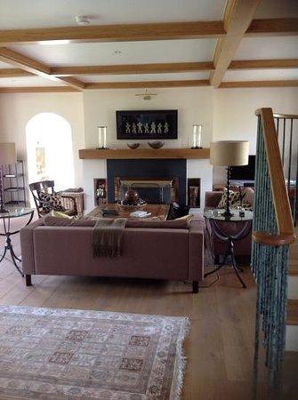 Sheen Falls Lodge: the lounge