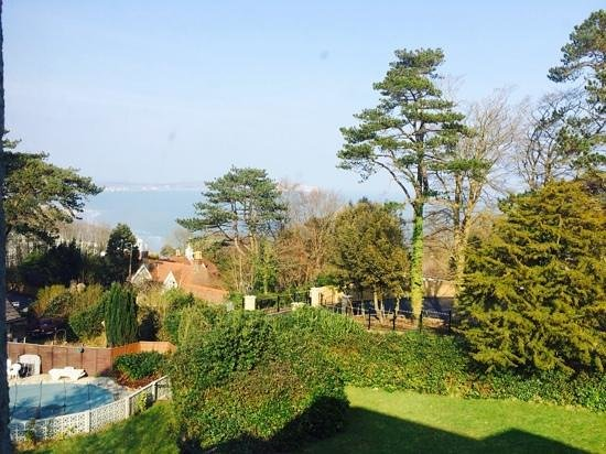 Bourne Hall Country Hotel: view from our room