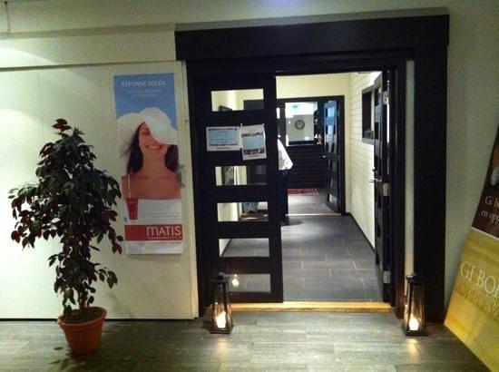 Hanko Fjordhotell & Spa: Inngang til spa