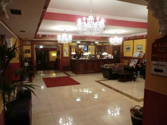 Imperial Hotel : Reception, Eingangsbereich