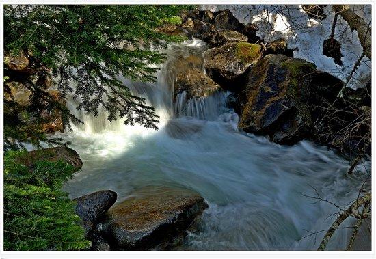 Val Masino, Italien: torrente ai bagni di masino