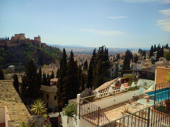 Apartamentos Montesclaros: Vue de la terrasse du haut