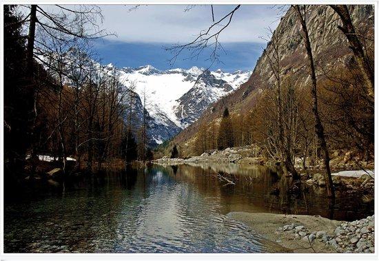Val Masino, Italien: lago in val di mello