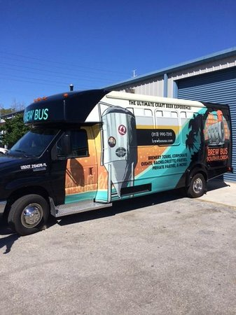 Oakland Park, Флорида: Our Brand New 23 passenger South Florida Brew Bus