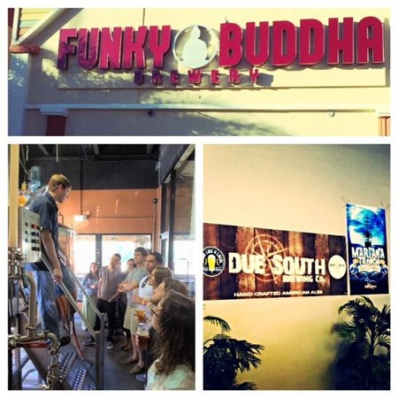 The Brew Bus-South Florida: Another Coastal Cruise Tour ft: Funky Buddha Brewery, Due South Brewing, and Brewzzi Boca