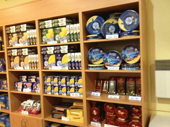 Falkensteiner Hotel Grand MedSpa Marienbad: wafer store inside
