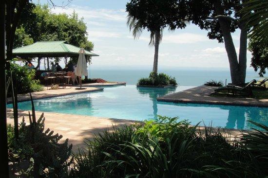 Bumi Hills Safari Lodge & Spa: Traum Pool mit unschlagbarem Blick