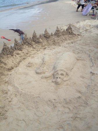 Sunwing Kamala Beach: Пляж