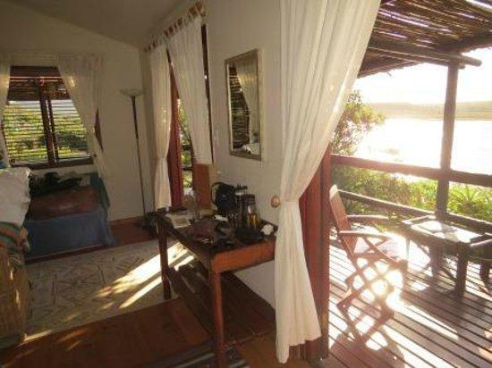 Mudlark River Front Lodge: Room's view