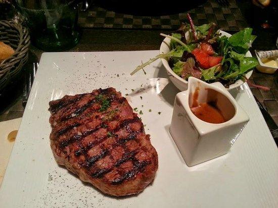 Brasserie Royale: Rib-Eye steak