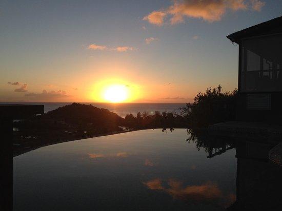 Sugar Ridge Resort : First sunset at Carmichael's