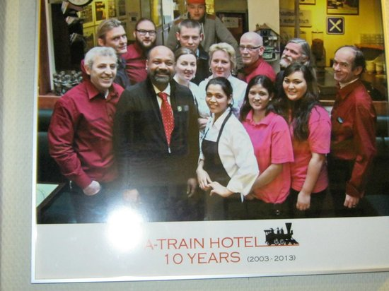 A-Train Hotel: the staff