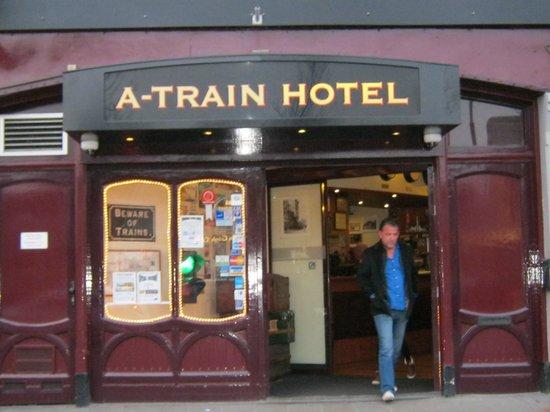 A-Train Hotel: front door2