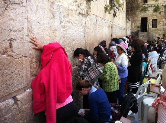 Mur des lamentations : Donne in preghiera