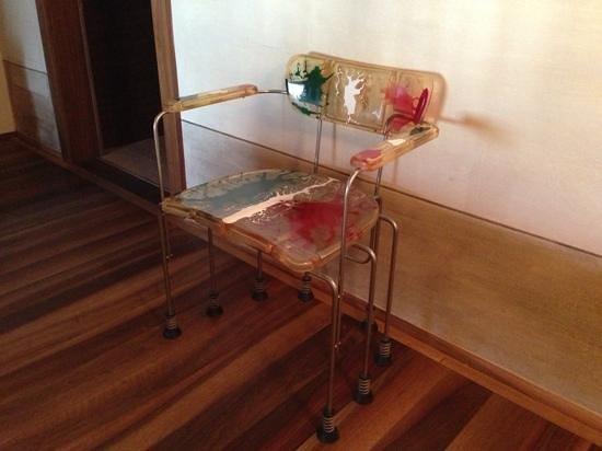 Hotel Veronesi La Torre: Una sedia nella nostra stanza