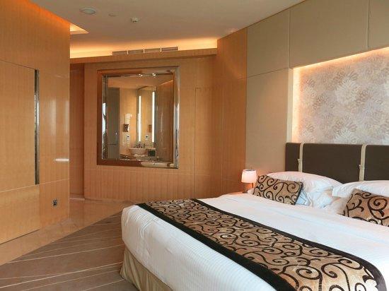 The Meydan Hotel : Blick ins Zimmer