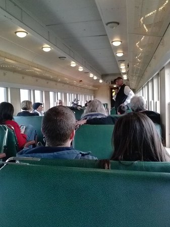 Heber Valley Railroad: Inside the train cars