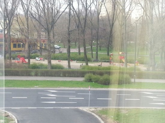 Regent Warsaw Hotel: View of park out of window