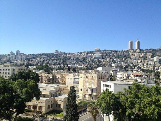 Bay Club Haifa Hotel - an Atlas Boutique Hotel : Our view