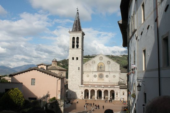 Spoleto, Italien: veduta esterna