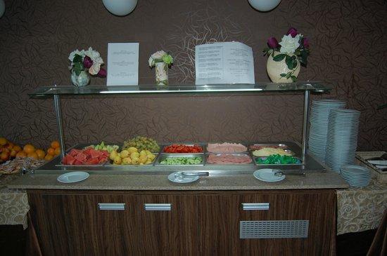 Hotel Regatta Palace: Завтрак в отеле