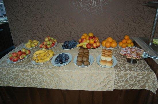 Hotel Regatta Palace: Завтрак в ресторане