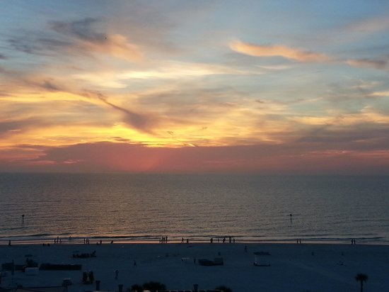Majesty in the skies above Clearwater Beach