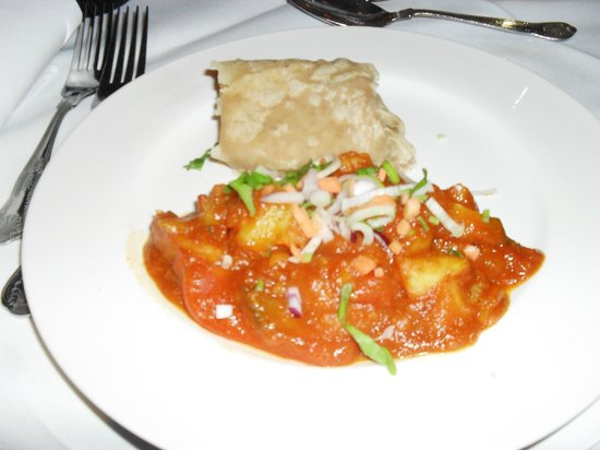 Rajdhani Indian Restaurant: Aloo chat