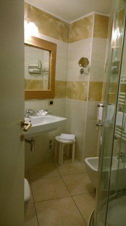 Hotel Diplomat Palace: bagno