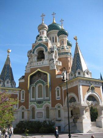 Cathédrale Orthodoxe Russe Saint-Nicolas de Nice : Русский храм на земле Франции