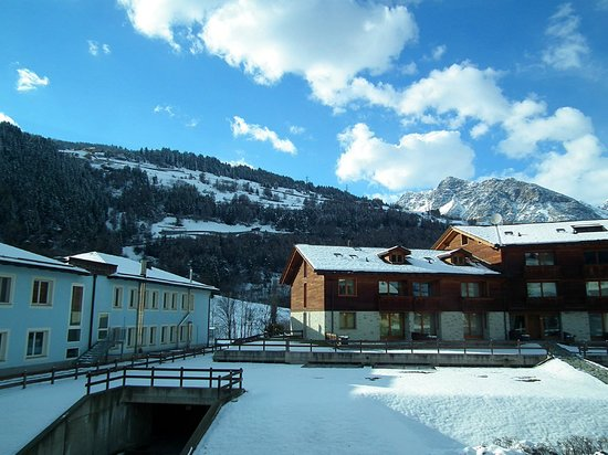 Hotel Baita Montana: View from room (backside)