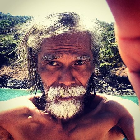Summer Breeze Inn Hotel: First Mate Mao taking his first #selfie.  This guy is so full of life, he's awesome!