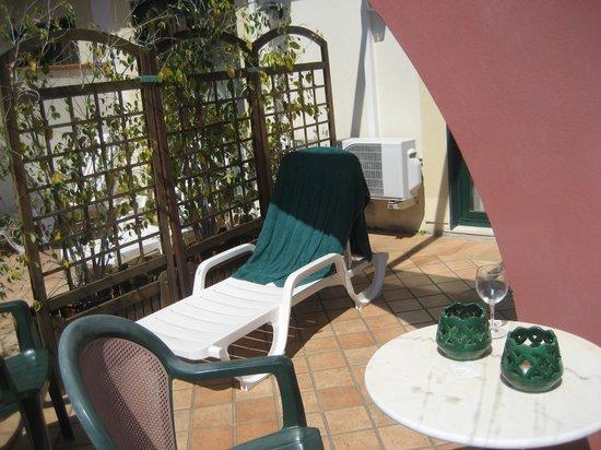 Baia Taormina-Grand Palace Hotel & Spa : балкон