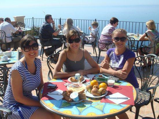 Baia Taormina : завтрак