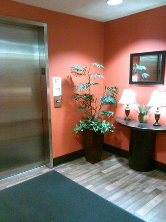 Extended Stay America - Cincinnati - Blue Ash - Kenwood Road: elevator & hallway