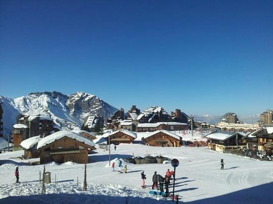 Pierre & Vacances Residence Atria-Crozats: Uitzicht vanaf ons balkon