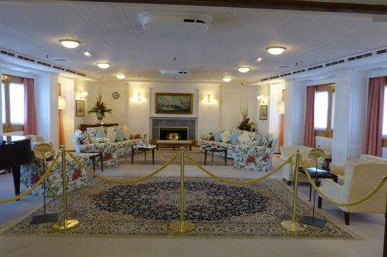 HMY Britannia: Royal chill out room