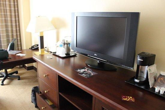 Sheraton Atlanta Perimeter North: Tv Room