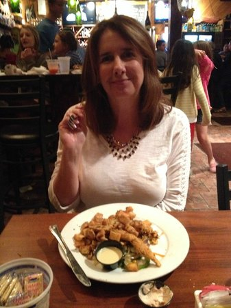 Stinky's Fish Camp : Soft shelled crab plate