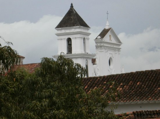 Hotel Mariscal Robledo: Hermosa vista desde la habitación